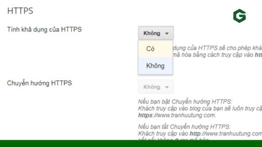 Bật HTTPS trên tên miền tùy chỉnh