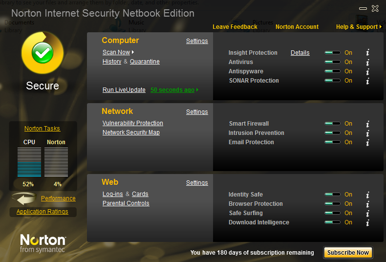 norton internet security 2016 trial reset 180 days