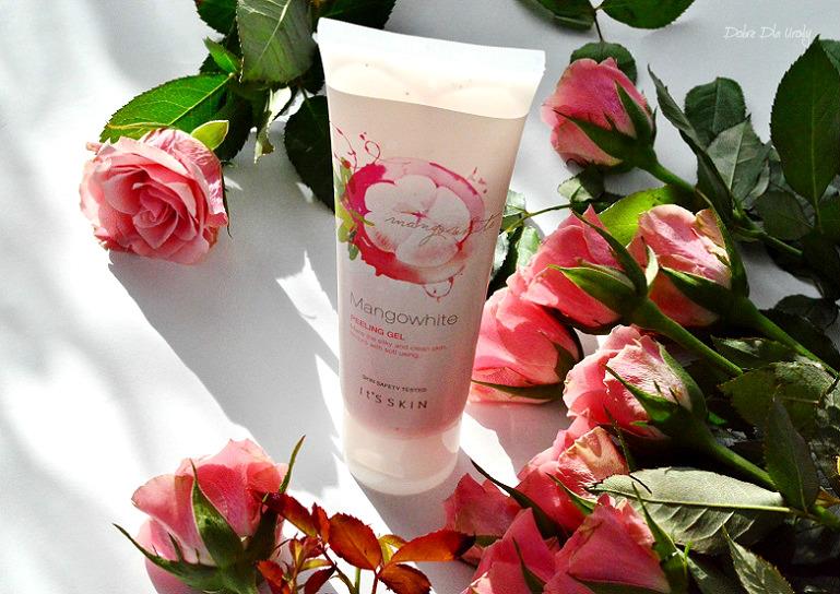Koreańska pielęgnacja It's Skin -  MangoWhite Peeling Gel recenzja