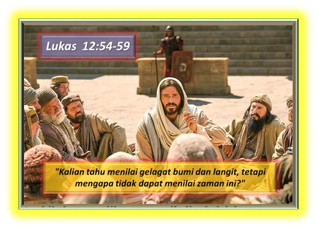 LUKAS 12:54-59