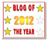 2012 Blog of the Year Awardie