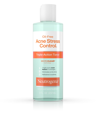 image of Neutrogena's Oil-Free Acne Stress Control® Triple-Action Toner