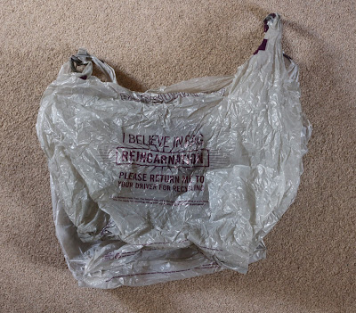 Ocado plastic bag
