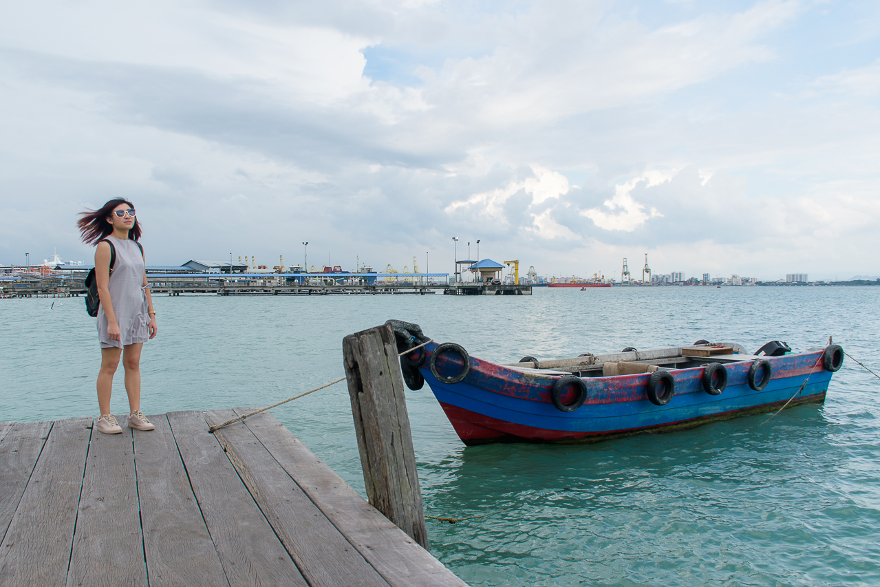 image of chew jetty penang malaysia