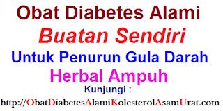 obat diabetes alami buatan sendiri untuk penurun gula darah herbal ampuh