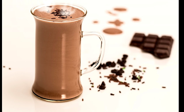 The hot chocolate drink