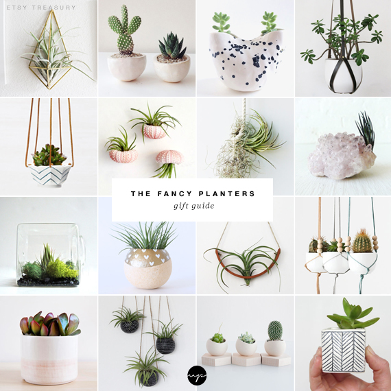 The fancy planters gift guide | My Paradissi