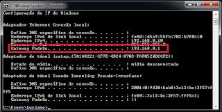configuração modem wifi