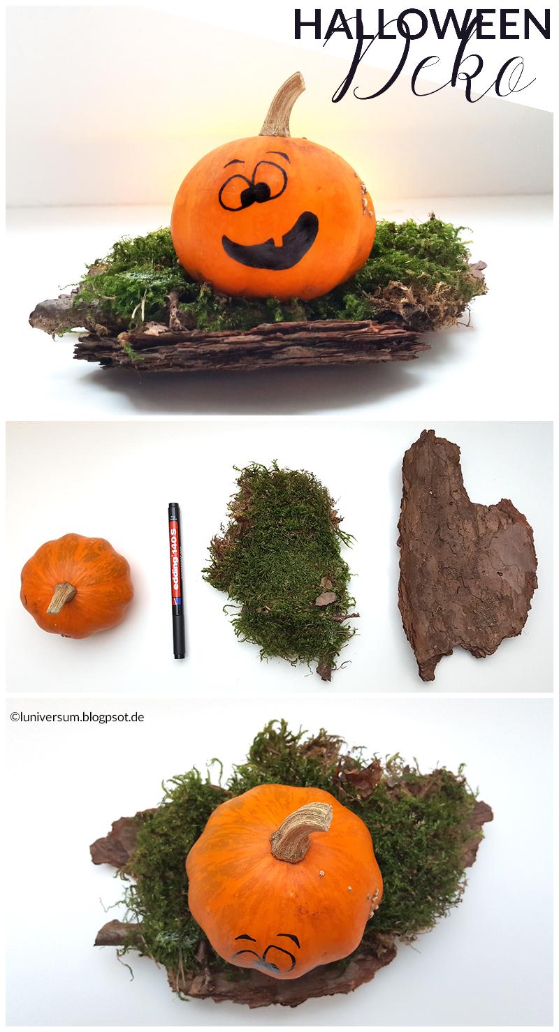 Halloween-Deko ganz ohne Rummantschen