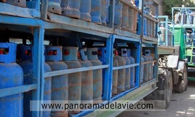 توقّف توزيع قوارير الغاز المنزلي