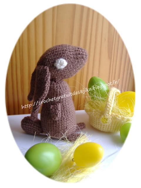 Lapin de Pâques au crochet