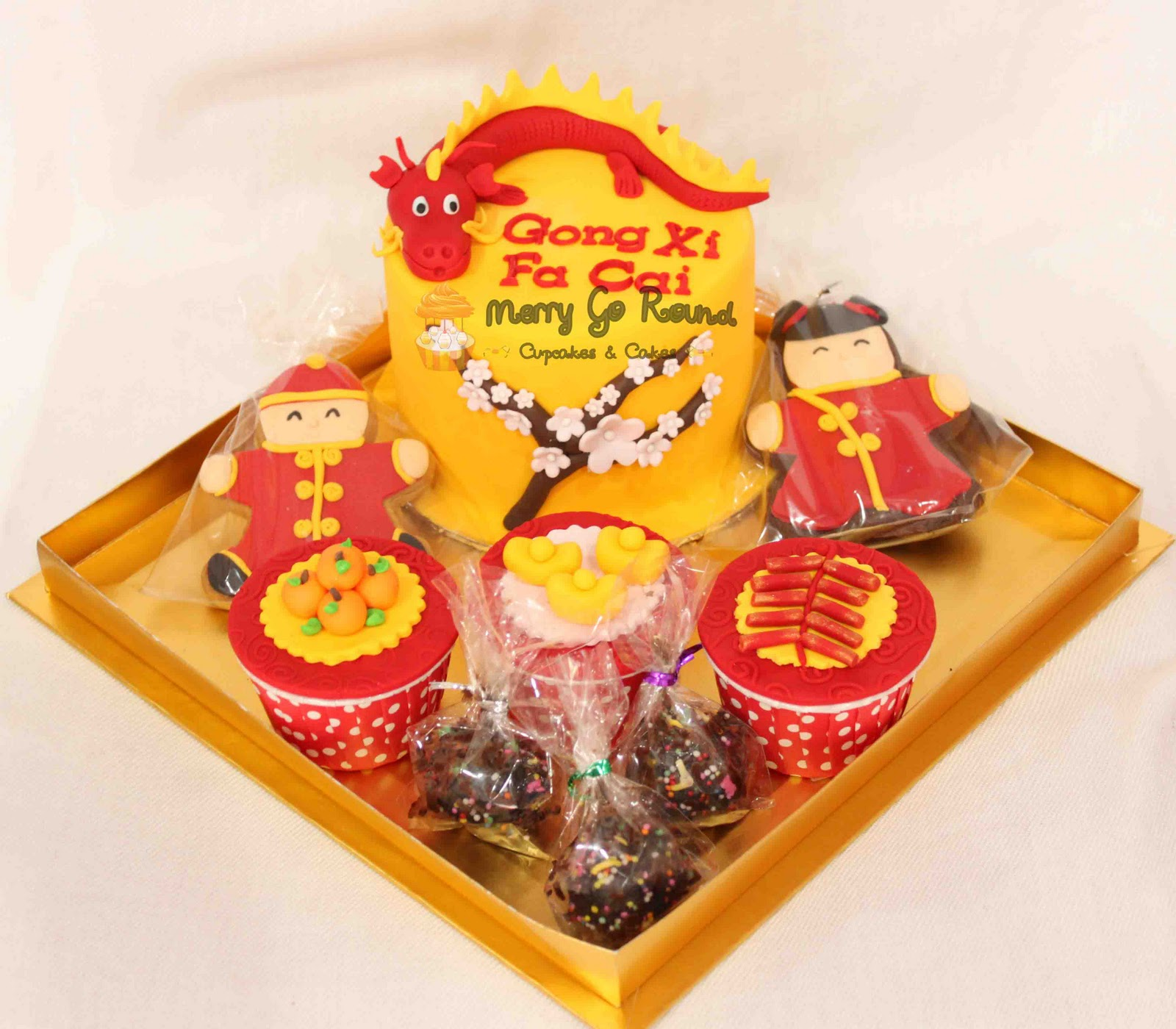 Merry Go Round - Cupcakes & Cakes: Chinese New Year Gift Box!