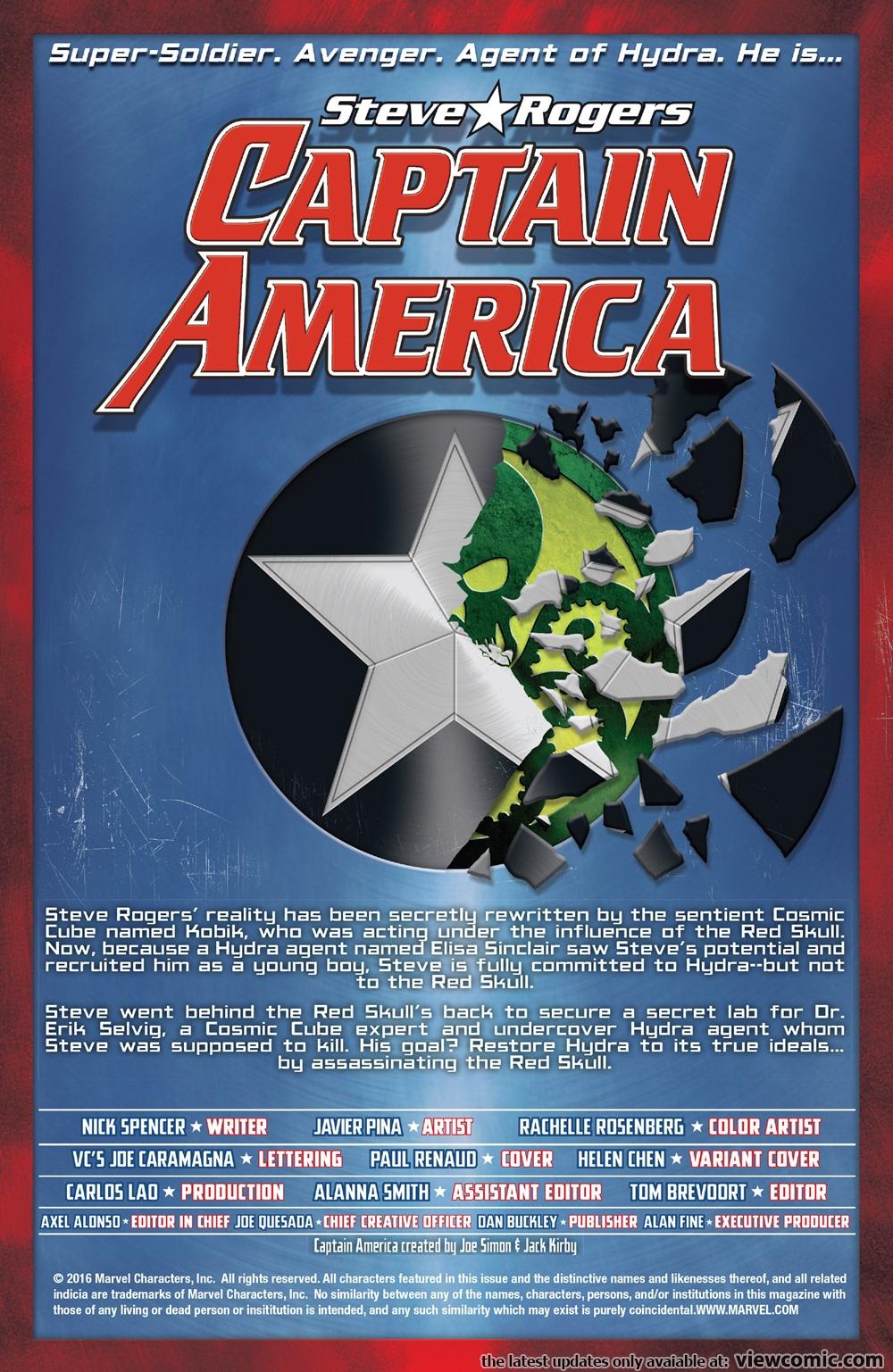 Captain America – Steve Rogers 005 (2016) | Vietcomic.net reading comics online for free