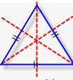 simetri pada sama sisi