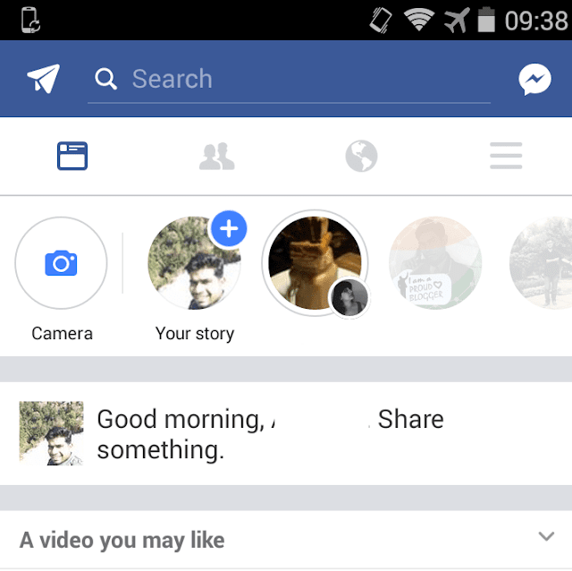 Create Facebook Stories