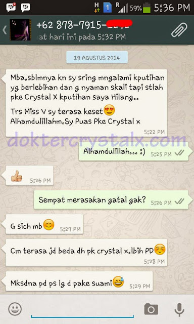 Testimoni Manfaat Crystal X Asli NASA 5