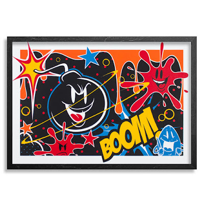 Bomb Dropper Variant Edition Screen Print by Sket One x 1xRUN x POW! WOW! Hawaii