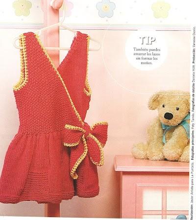 Vestido Cruzado Infantil Instrucciones