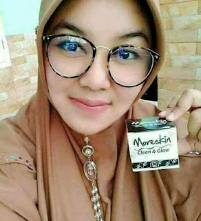 testimoni moreskin clean and glow