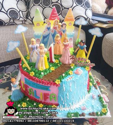 Kue Tart Ulang Tahun Princess Disney