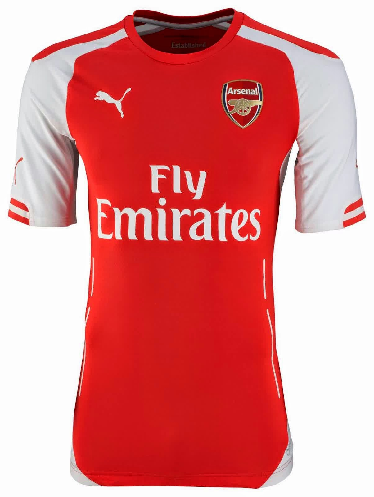 Jersey Arsenal 2014-2015 terbaru
