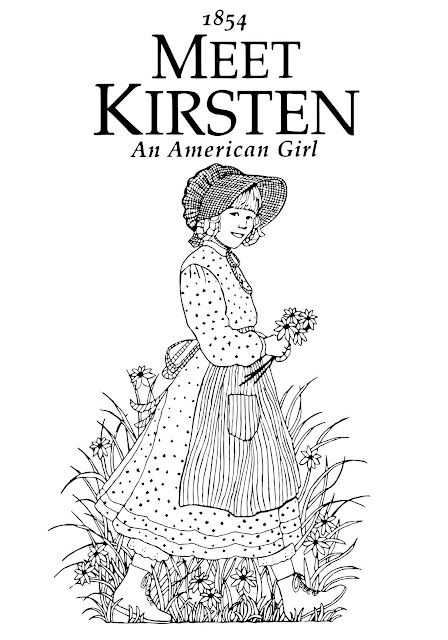 j american girl coloring pages | My Cup Overflows: Meet Kirsten: An American Girl
