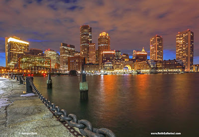 Boston night photography
