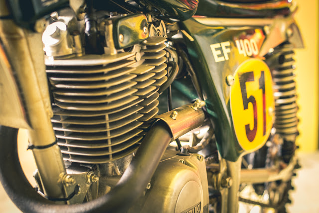 IDM Suzuki EF400BB Vintage Cross Bike