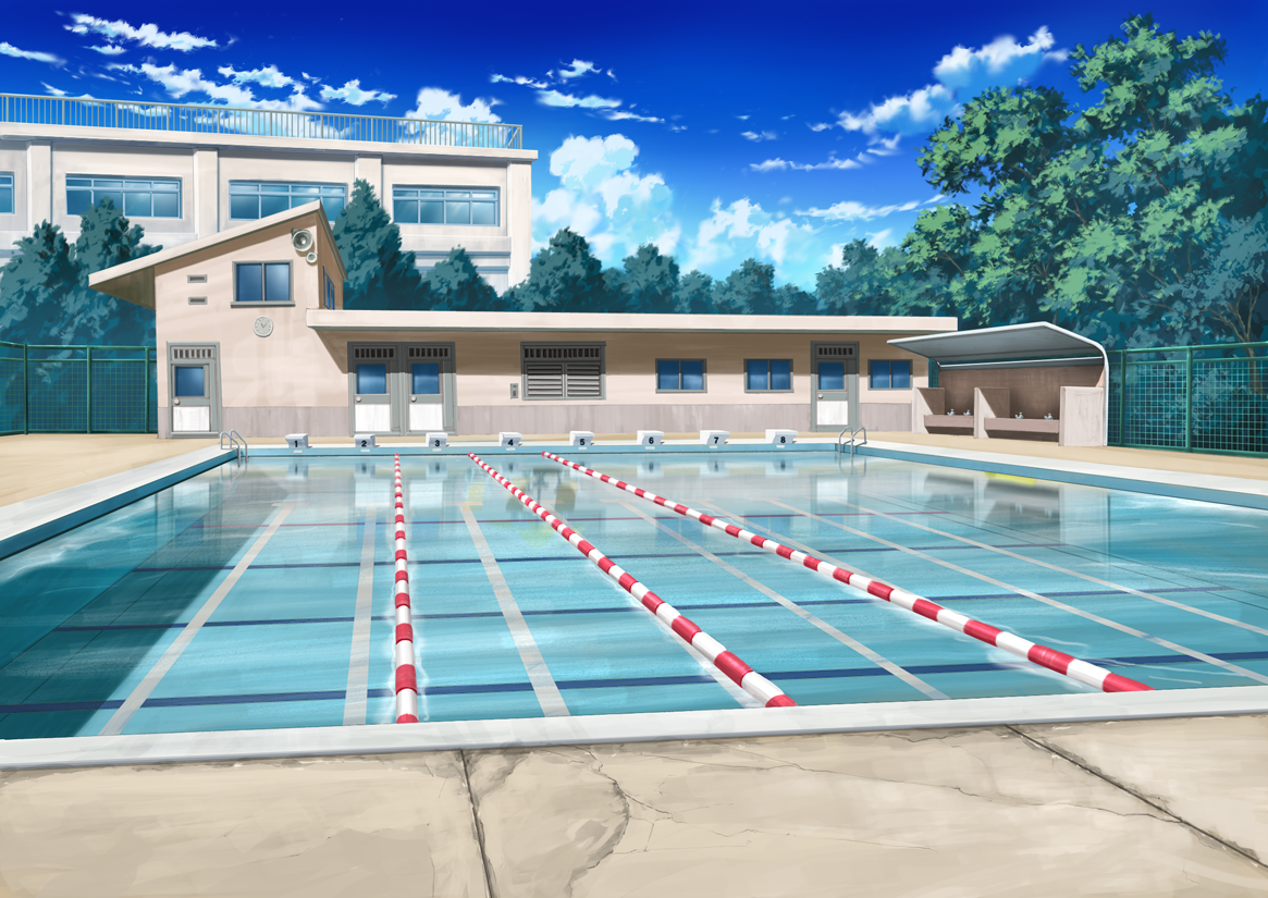 Sport outdoor anime landscape for Outside landscape