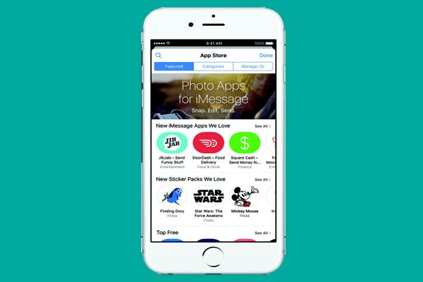 aplikasi iMessage di iOS 10