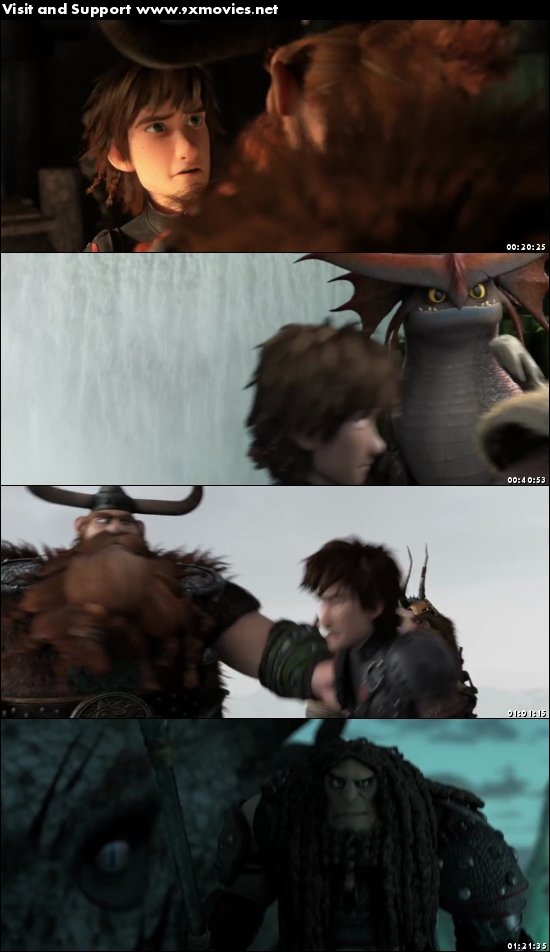 How To Train Your Dragon 2 (2014) Dual Audio Hindi 480p BluRay