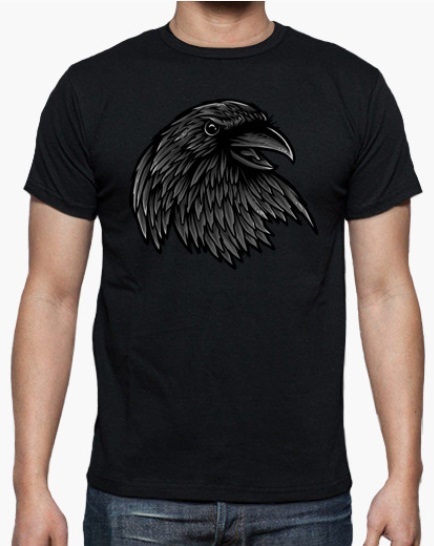 Camiseta Rise Of The Raven
