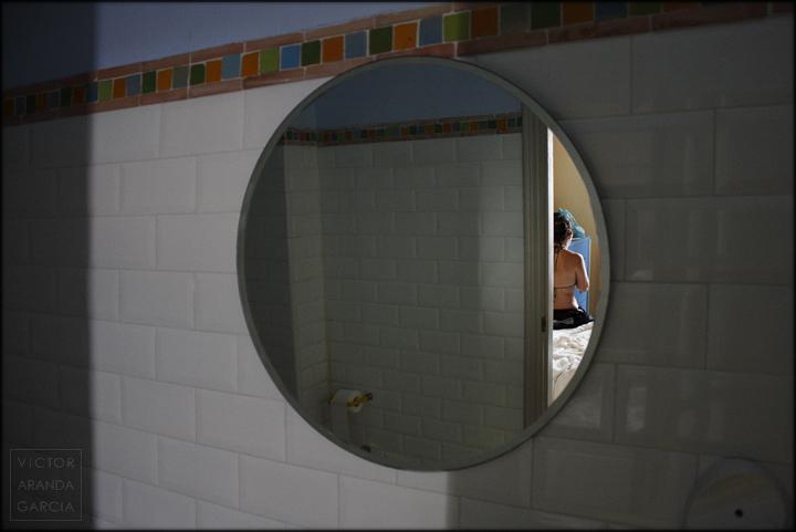 foto,dénia,retrato,espejo,reflejo,chica,límites