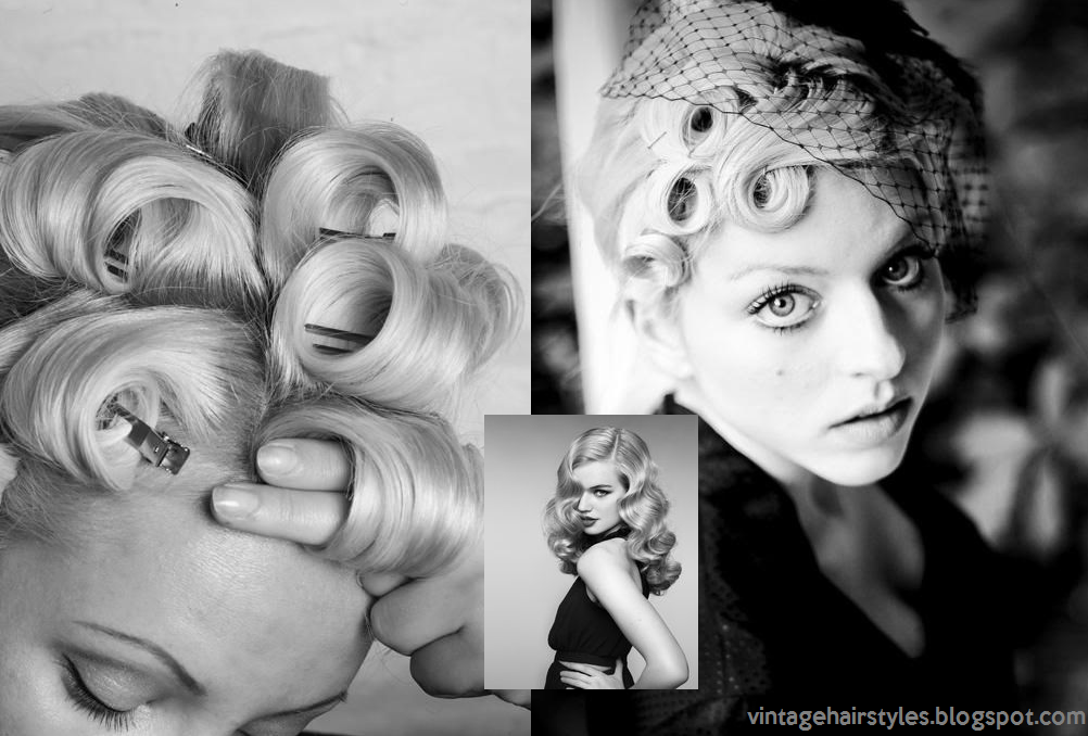 Awesome Vintage Hairstyles How To Make Pin Curls For Vintage Hairstyles Hairstyle Inspiration Daily Dogsangcom