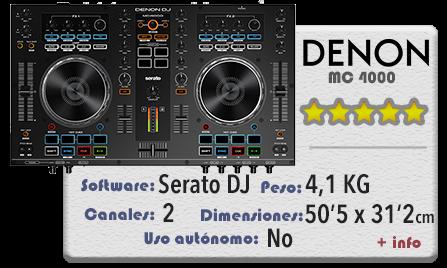 Denon MC 4000