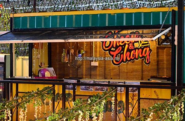 Container City Miri Cheese and Chong