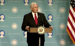 Vice President, speaking at a luncheon in Nashville hosted by the Susan B. Anthony List and the Life Issues Institute