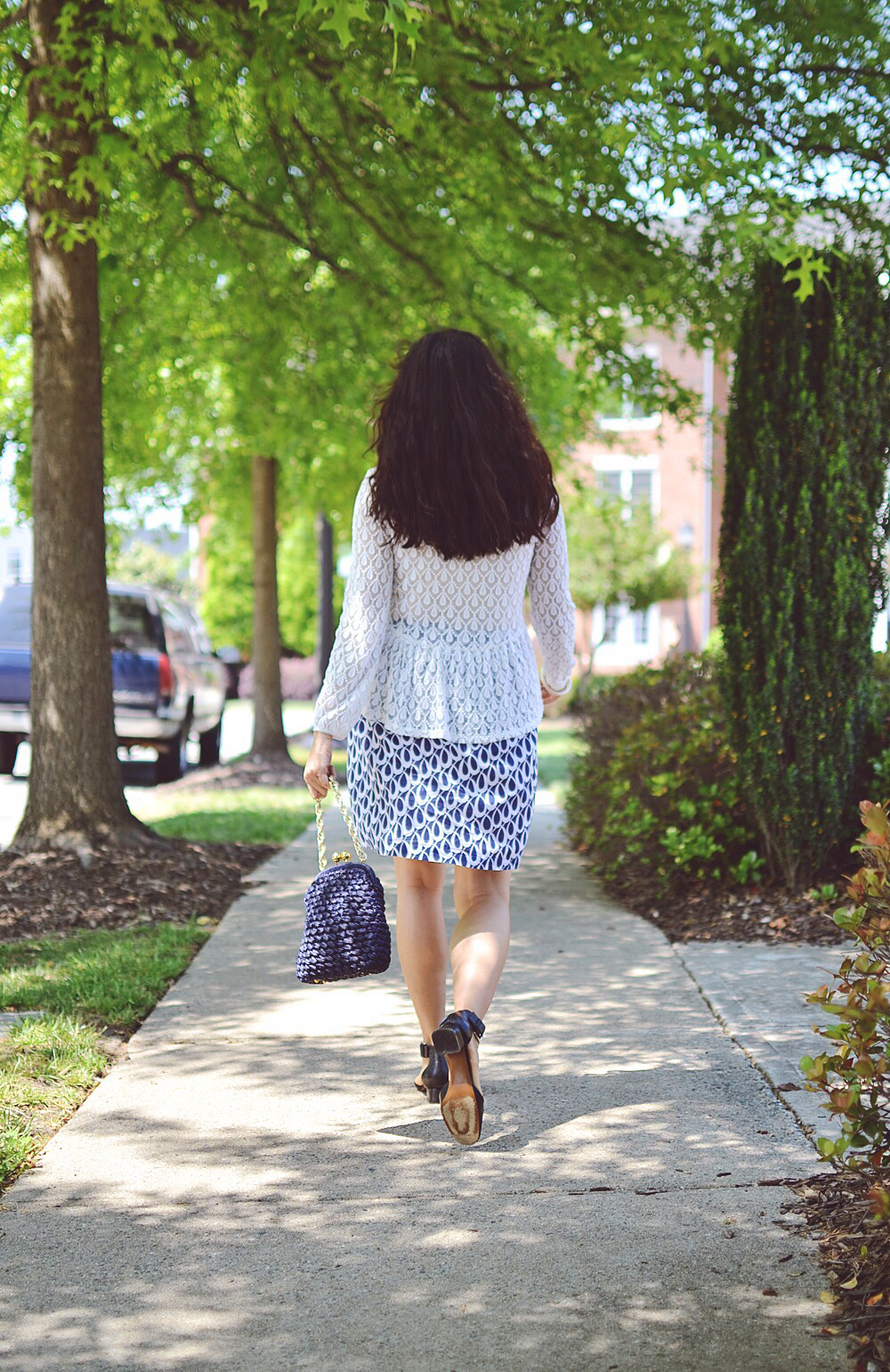 Spring outfit street style