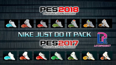 PES 2018 / PES 2017 Nike Just Do It Pack 2018 by LPE09