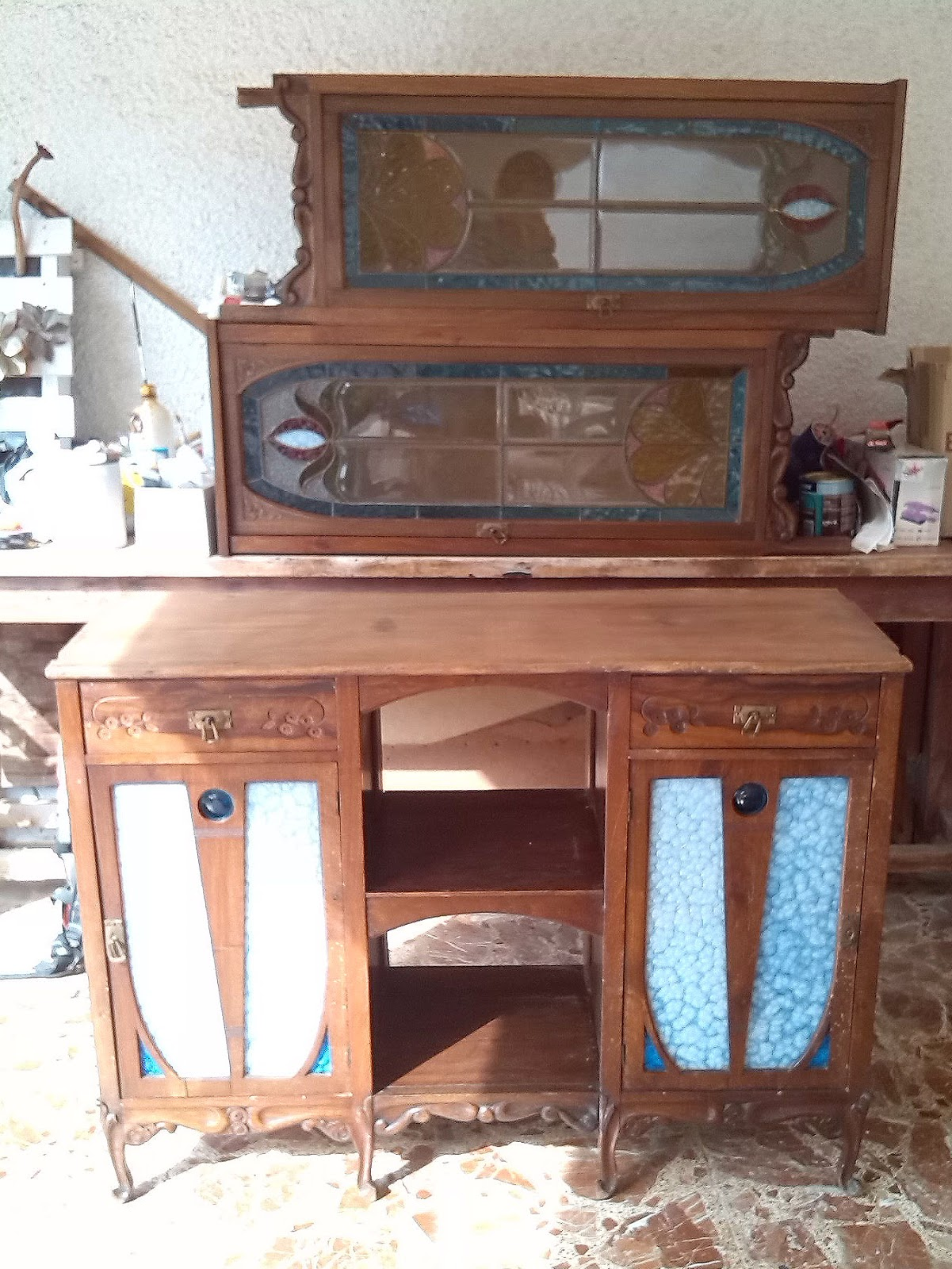 Restaurar mueble con carcoma great perfect de un mueble - Tratamiento carcoma muebles ...