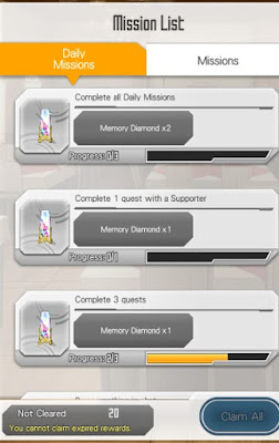 Sword Art Online: Memory Defrag Memory Diamonds