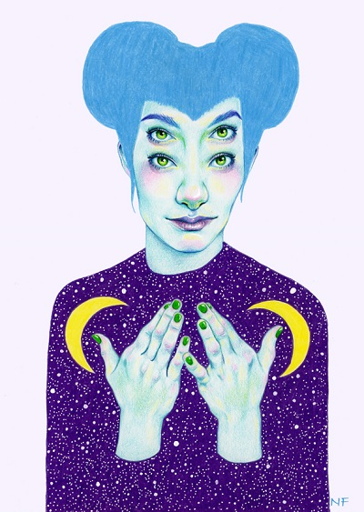 """Bablien I - Space Queen"" por Natalie Foss 