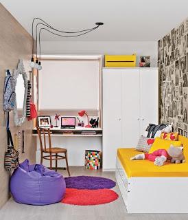 Dormitorio pequeño de chica