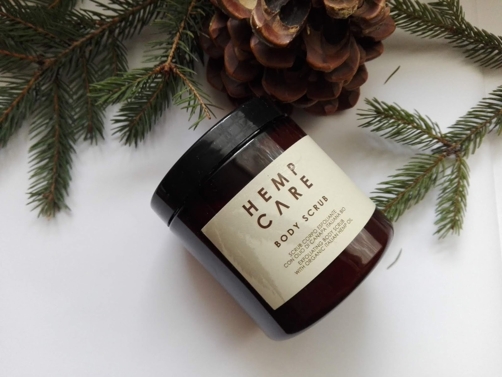 Hemp Care Body Scrub