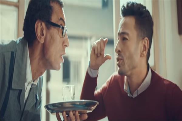 """أغنية """" اشرب شاي"""" لحمادة هلال تقترب 7 ملايين مشاهد"""