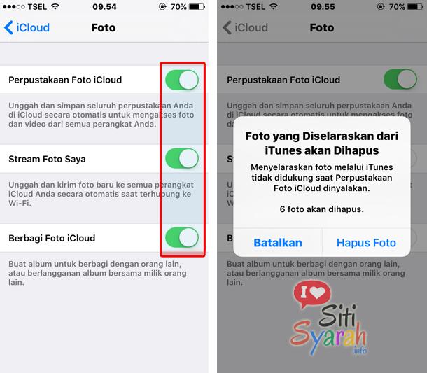 Manfaat Dan Cara Simpan Foto Di Icloud Iphone