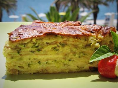 Torta od tikvica i palačinki / Zucchini pancake cake