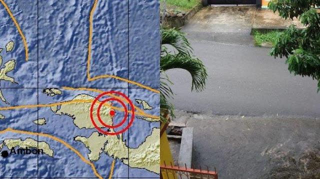 Gempa Manokwari 28 Desember 2018