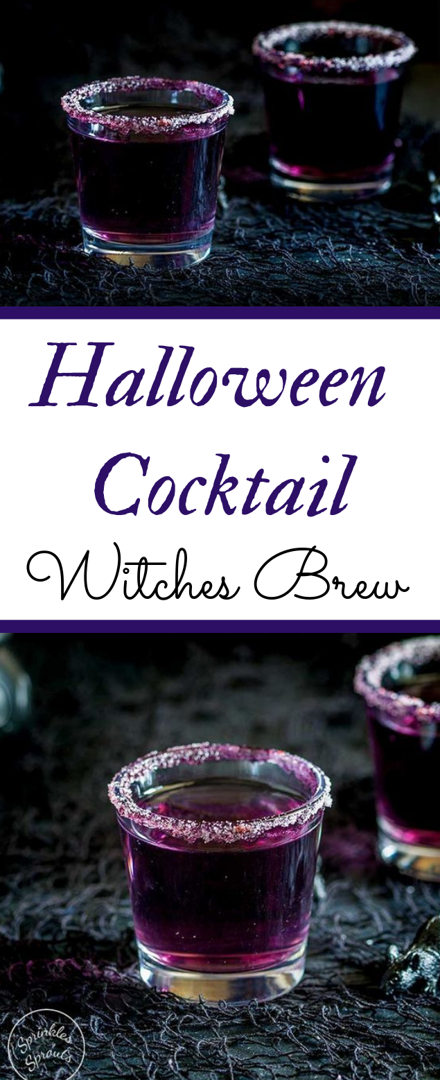 A Halloween Cocktail #drink #cocktail
