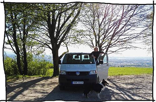 VW T5 startklar für den Roadtrip
